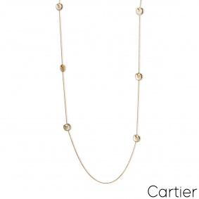 Cartier Yellow Gold Amulette Necklace